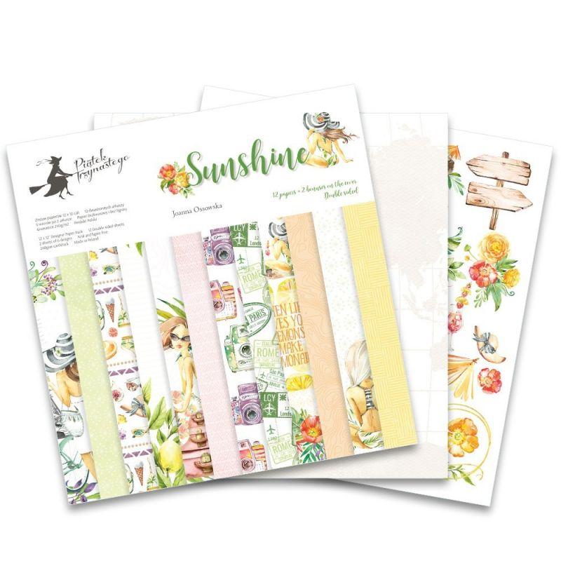 """Sunshine - 12""""-es mini kollekció (6 db 2 oldalas papír)"""