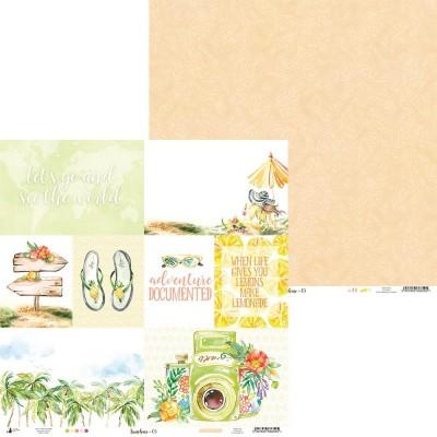 """Sunshine - 12""""-es maxi kollekció (12 db 2 oldalas papír + 1 kivágóív)"""