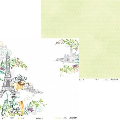 """Sunshine - 6""""-es kollekció (24 db 2 oldalas papír)"""