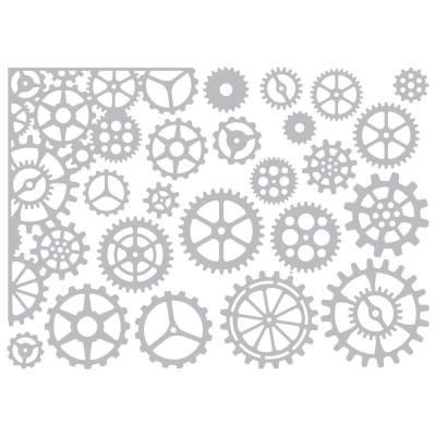 Sizzix Thinlits Vágókés Szett - Gearhead
