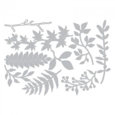 Sizzix Thinlits Vágókés Szett - Garden Greens