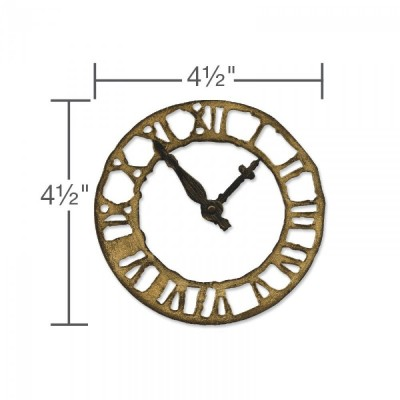 Sizzix Thinlits Vágókés Szett - Weathered Clock