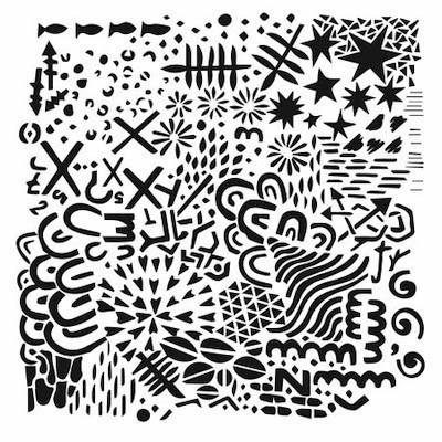 TCW  Stencil - TEXTURE PLATE 6x6