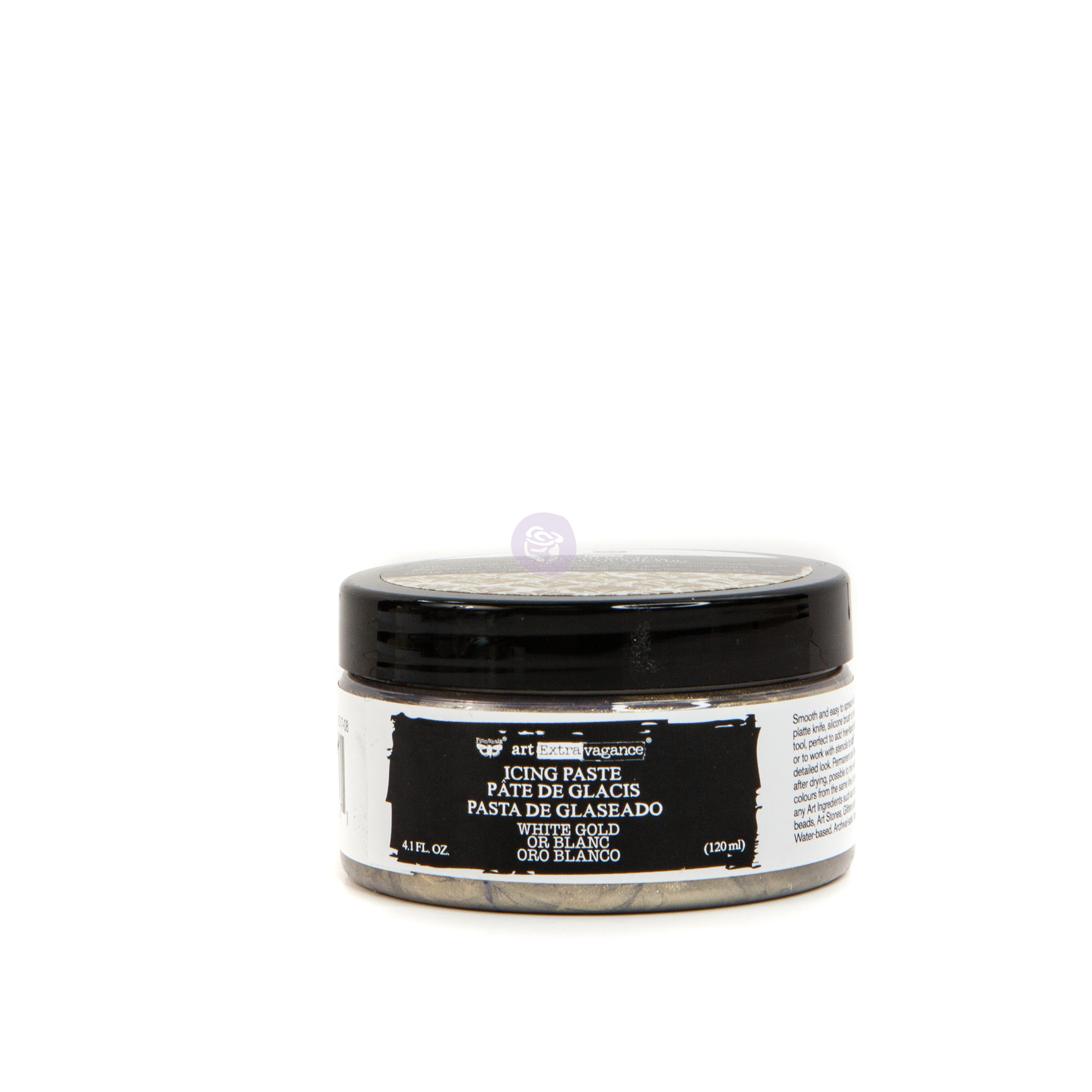 Finnabair - Art Extravagance - Icing Paste - White Gold