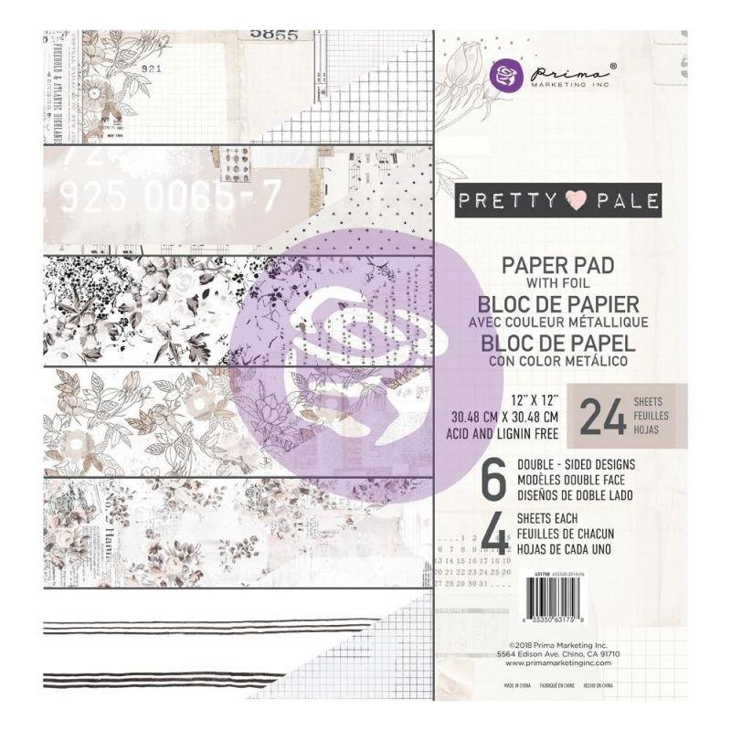 Pretty Pale 12x12-es papírkészlet
