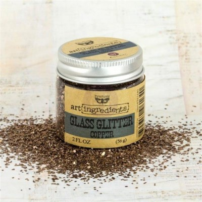 Art Ingredients - Glass Glitter: Copper 56g