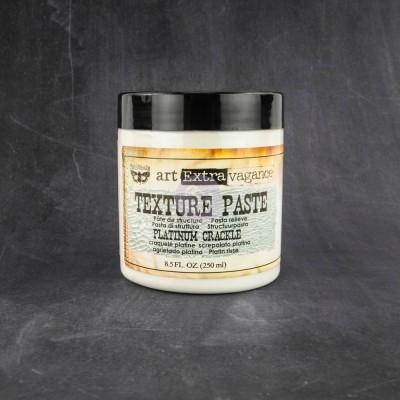 Art Extravagance - Texture Paste - Platinum Crackle