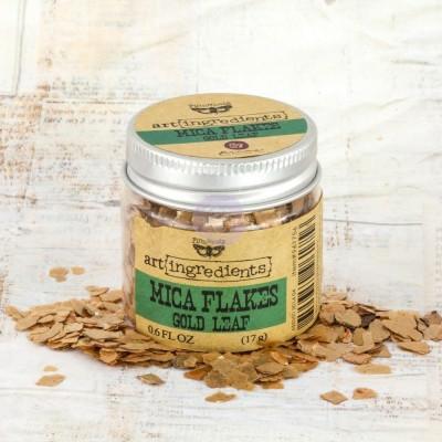 Art Ingredients - Mica Flakes: Gold Leaf