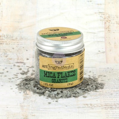 Art Ingredients - Mica Flakes: Granite