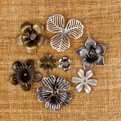 Finnabair - Vintage Mechanicals - Vintage Flowers (8 db)