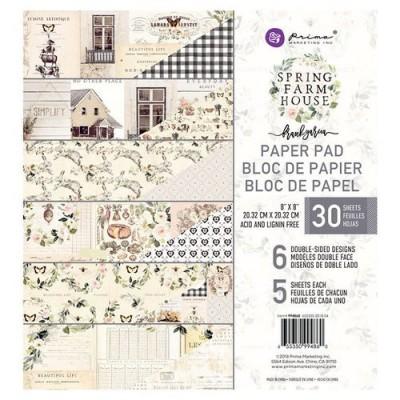 Spring Farm 8x8-as papírkészlet (30 lap)