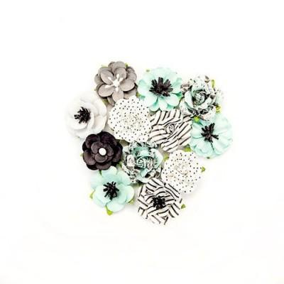 Flirty Fleur - Adoration papírvirágok (12db/csomag)
