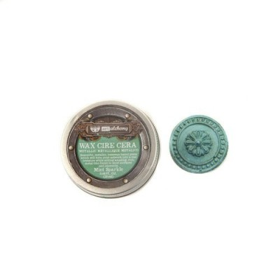Art Alchemy - Metallique Wax - Mint Sparkle