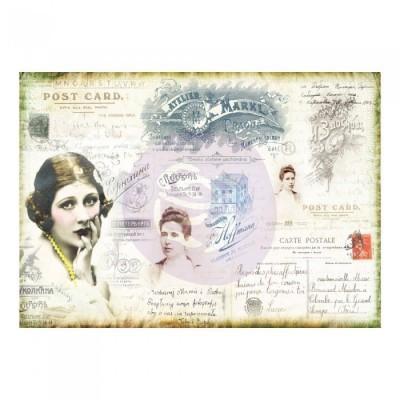 Finnabair - Rizspapír - Carte Postale (6db/csomag)
