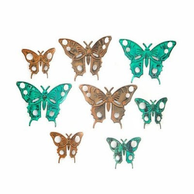 Finnabair - Vintage Mechanicals - Scrapyard Butterflies (8 db)