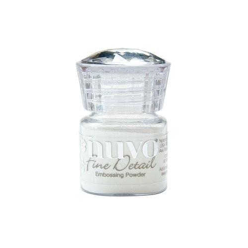 Nuvo - Domborító por - Glacier White (fehér)