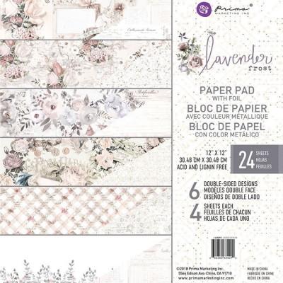 Lavender Frost 12x12-es papírkészlet