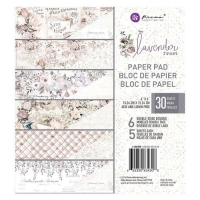 Lavender Frost 6x6-os papírkészlet