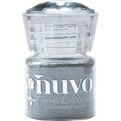 Nuvo - Domborító por - Classic Silver (ezüst)