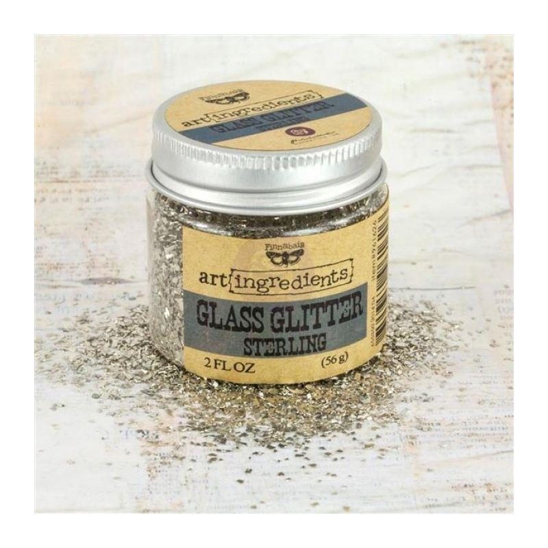 Art Ingredients - Glass Glitter: Sterling 56g