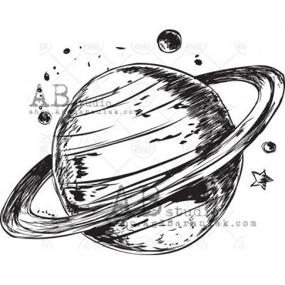 Gumibélyegző - ID-447 - bolygó