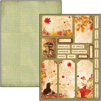 Sound of Autumn creative pad A4