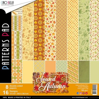 Sound of Autumn pattern pad 12x12
