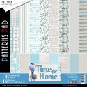Time for Home pattern pad 12x12