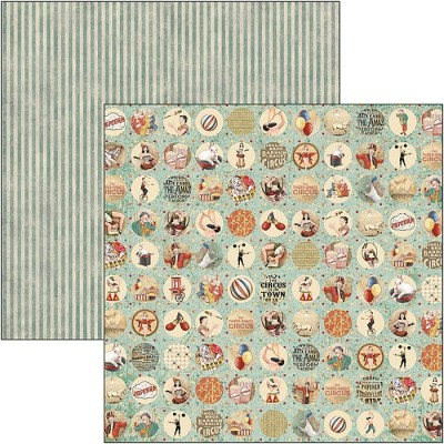 The Greatest Show pattern pad 12x12