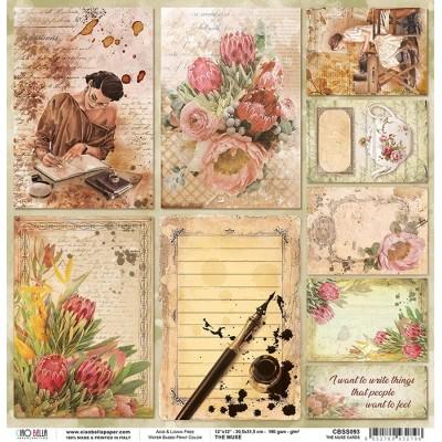 """The Muse Cards 12""""-es papír"""