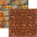 Collateral Rust pattern pad 12x12