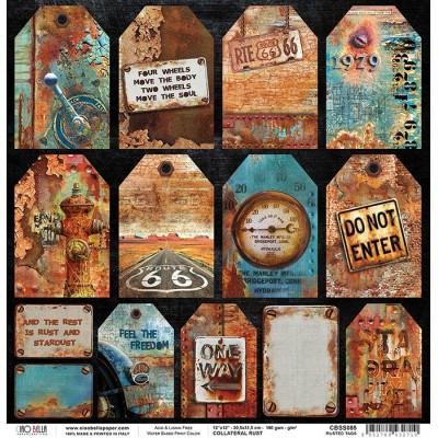 "Rusted Tags 12""-es papír"
