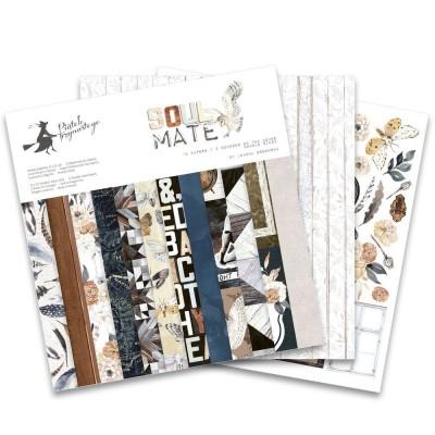 """Soulmate - 12""""-es maxi kollekció (12 db 2 oldalas papír + 1 kivágóív)"""
