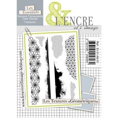 Geometric Textures szilikonbélyegző