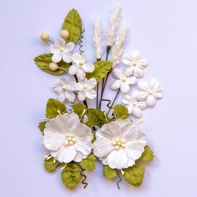 Papírvirág készlet - Wildflowers - Cloud