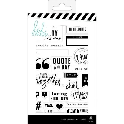Heidi Swapp Words & Icons szilikonybélyegző