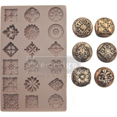 Szilikon öntőforma - Redesign Mould - Trinckets