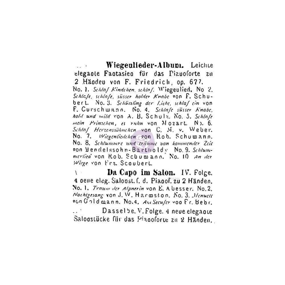 Finnabair - Read To Me szilikonbélyegző