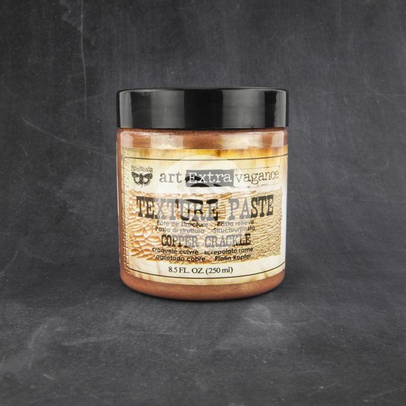 Art Extravagance - Texture Paste - Copper Crackle (250 ml)