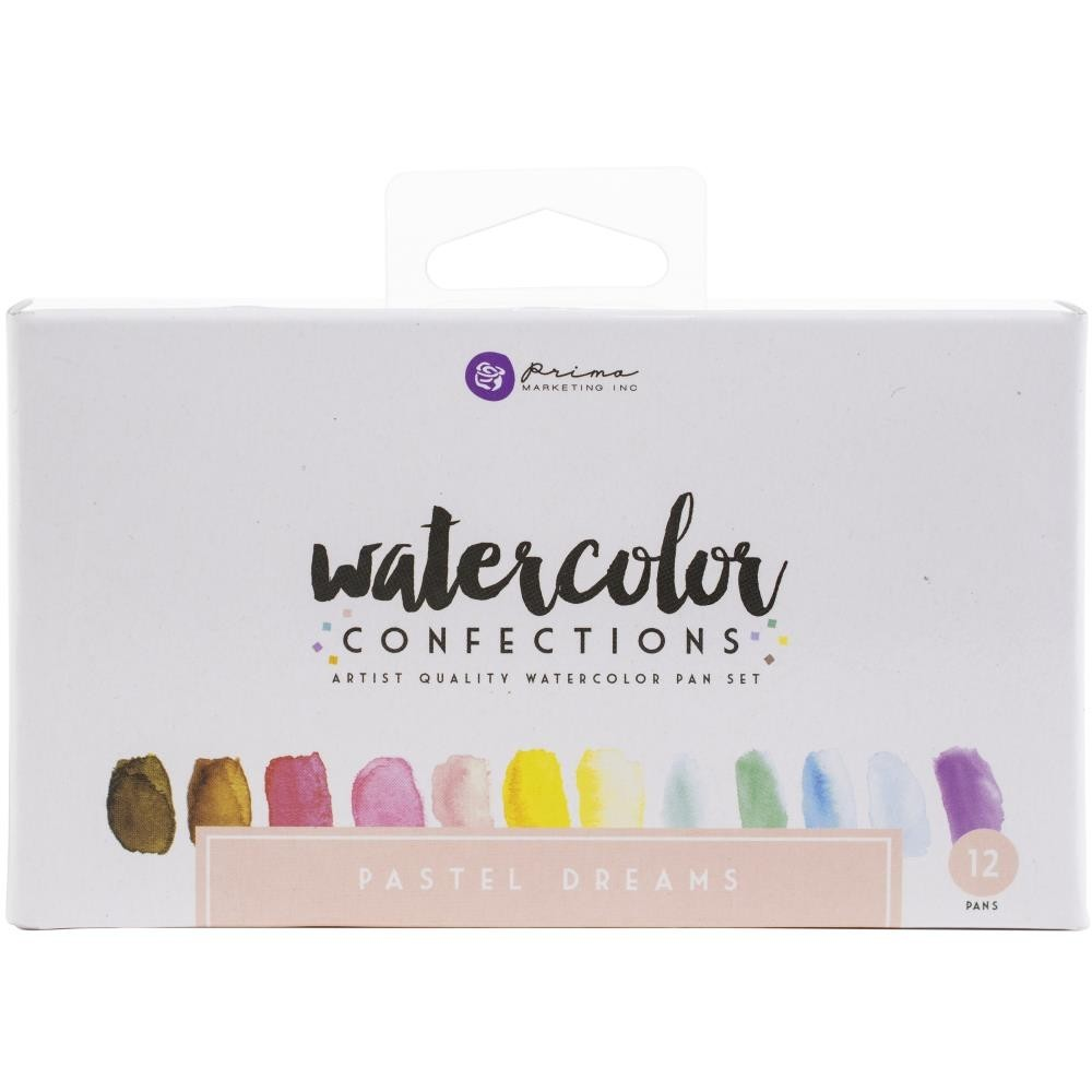 Watercolor Confections - Pastel Dreams - vízfesték szett 12db/csomag