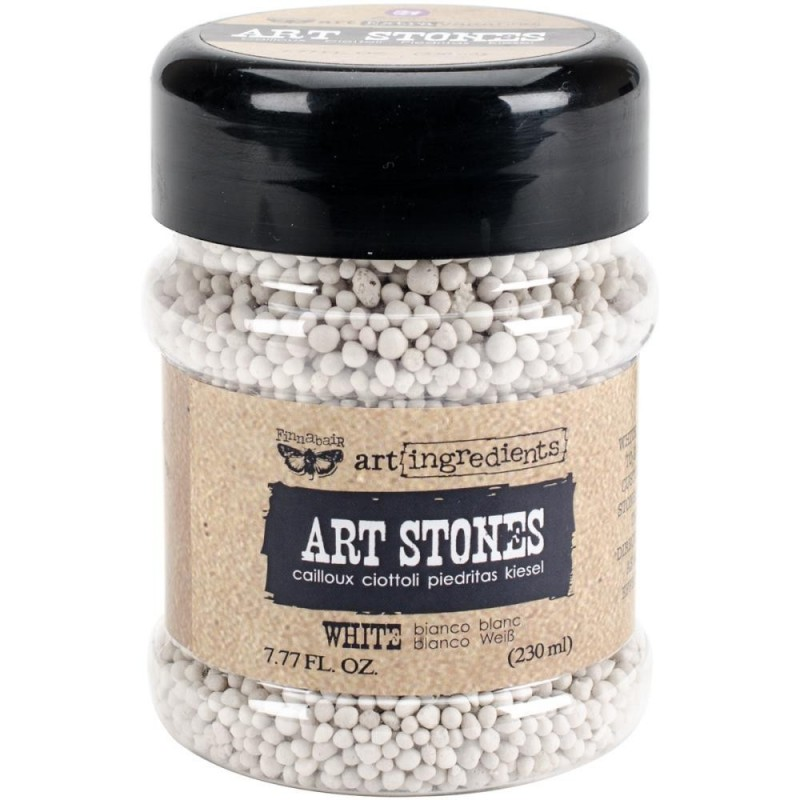 Finnabair - Art Ingredients - Art Stones 7.77 Ounces - White