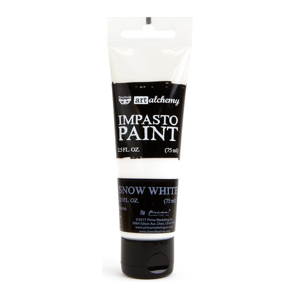 Finnabair - Art Alchemy - Impasto Paint - Snow White