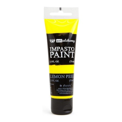 Finnabair - Art Alchemy - Impasto Paint - Lemon Peel
