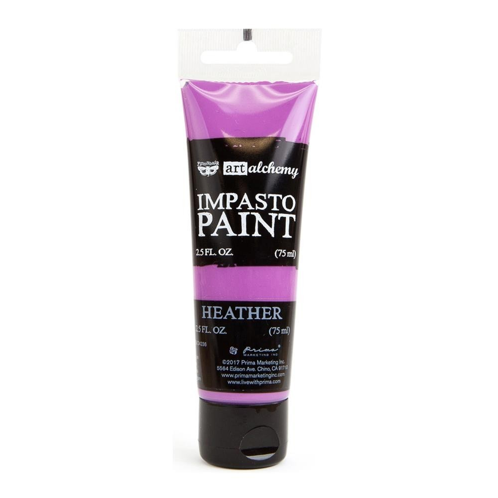Finnabair - Art Alchemy - Impasto Paint - Heather