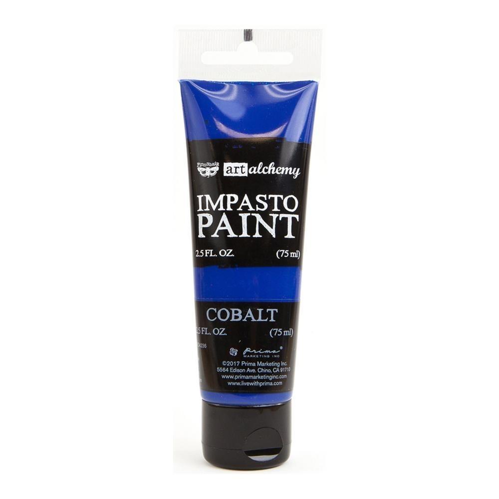 Finnabair - Art Alchemy - Impasto Paint - Cobalt