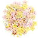 Mulberry Paper Flowers - Tropical Bliss/Fruit Paradise, 120darab/csomag
