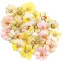 Mulberry Paper Flowers - Kiwi Lime/Fruit Paradise, 24db/csomag