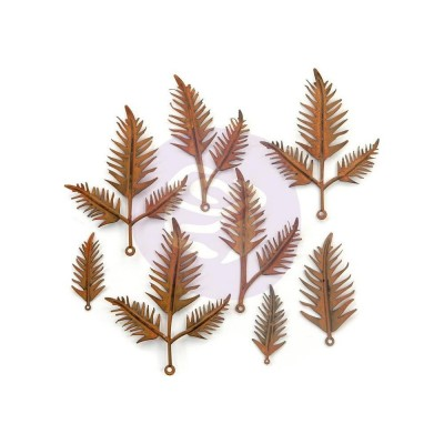 Finnabair - Mechanicals - Metal Embellishments - Woodland Fern 8db/csomag