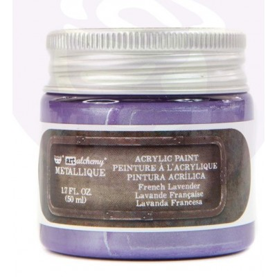Finnabair - Art Alchemy - Metallique Acrylic Paint - French Lavender