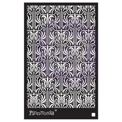 """Finnabair - Elementals Stencil - Iris Tapestry 6""""X9"""""""